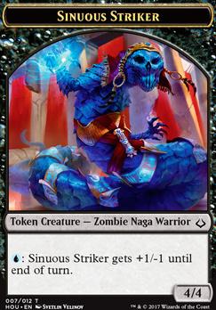 Hour of Devastation: Sinuous Striker Token