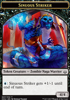 Hour of Devastation: Sinuous Striker Token