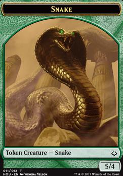 Hour of Devastation: Snake Token