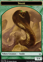 Hour of Devastation: Snake Token