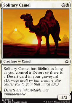 Hour of Devastation Foil: Solitary Camel