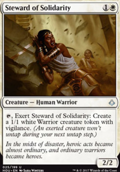 Hour of Devastation Foil: Steward of Solidarity