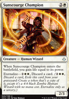 Hour of Devastation Foil: Sunscourge Champion