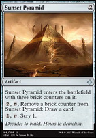 Hour of Devastation Foil: Sunset Pyramid