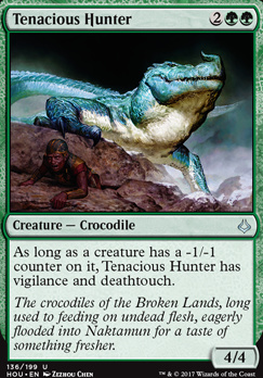 Hour of Devastation Foil: Tenacious Hunter