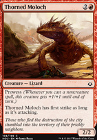 Hour of Devastation Foil: Thorned Moloch
