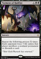 Hour of Devastation Foil: Torment of Hailfire