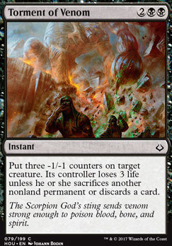 Hour of Devastation: Torment of Venom