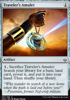 Hour of Devastation Foil: Traveler's Amulet
