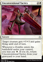 Hour of Devastation Foil: Unconventional Tactics
