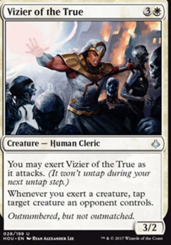 Hour of Devastation Foil: Vizier of the True