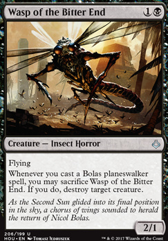 Hour of Devastation: Wasp of the Bitter End (Planeswalker Deck)