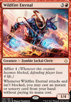 Hour of Devastation Foil: Wildfire Eternal