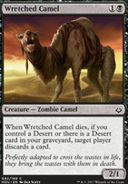 Hour of Devastation Foil: Wretched Camel