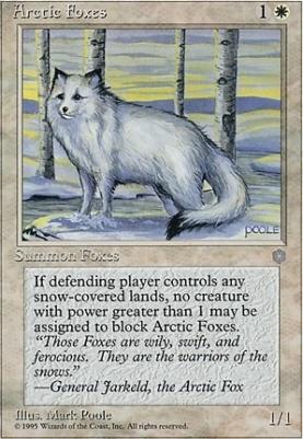 Ice Age: Arctic Foxes