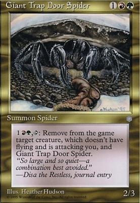 Ice Age: Giant Trap Door Spider