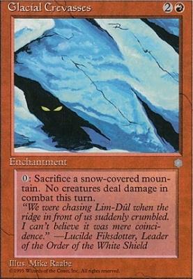 Ice Age: Glacial Crevasses