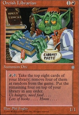 Ice Age: Orcish Librarian