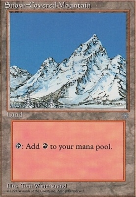 Ice Age: Snow-Covered Mountain