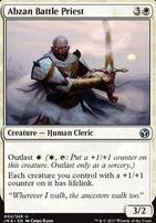 Iconic Masters Foil: Abzan Battle Priest