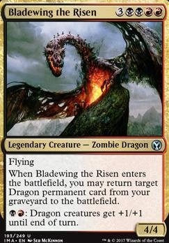 Magic The Gathering Cards Iconic Masters Bladewing The Risen