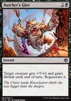 Iconic Masters Foil: Butcher's Glee