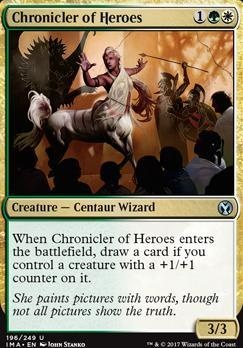 Iconic Masters: Chronicler of Heroes