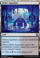 Iconic Masters Foil: Dimir Aqueduct