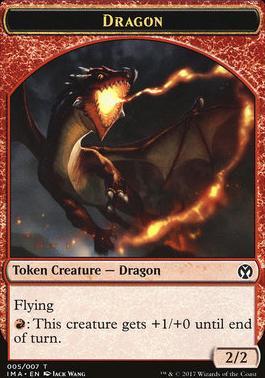 MTG ICONIC MASTERS Dragon Egg