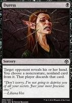 Iconic Masters Foil: Duress