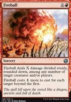 Iconic Masters Foil: Fireball