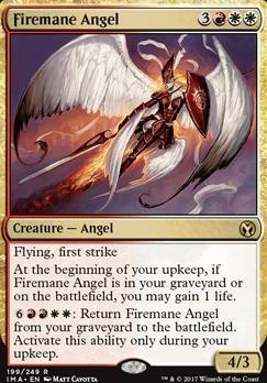 Iconic Masters Foil: Firemane Angel
