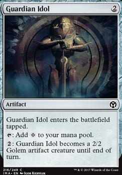 Iconic Masters Foil: Guardian Idol