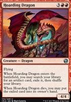 Iconic Masters Foil: Hoarding Dragon
