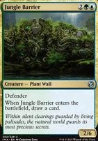 Iconic Masters Foil: Jungle Barrier