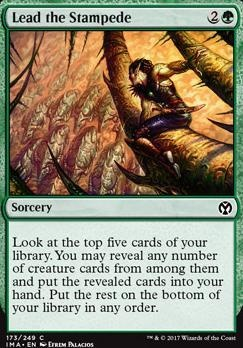 Iconic Masters Foil: Lead the Stampede