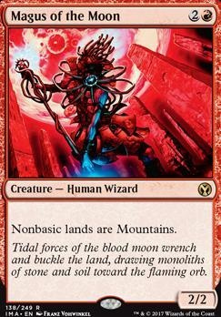 MTG MAGIC ICONIC MASTERS NM MAGUS OF THE MOON
