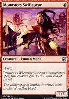 Iconic Masters Foil: Monastery Swiftspear