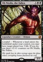 Iconic Masters Foil: Ob Nixilis, the Fallen