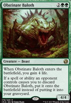 Iconic Masters: Obstinate Baloth