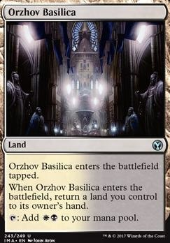 Iconic Masters Foil: Orzhov Basilica
