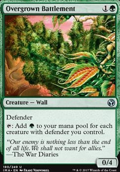 Iconic Masters: Overgrown Battlement