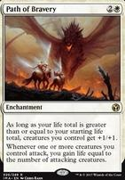 Iconic Masters Foil: Path of Bravery