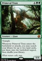 Iconic Masters: Primeval Titan