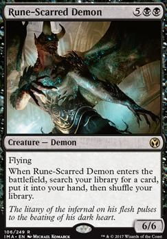 Iconic Masters: Rune-Scarred Demon