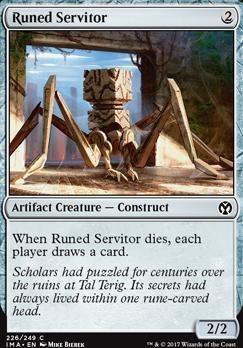 Iconic Masters: Runed Servitor