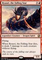 Iconic Masters Foil: Ryusei, the Falling Star