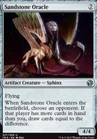 Iconic Masters Foil: Sandstone Oracle