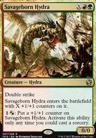 Iconic Masters Foil: Savageborn Hydra
