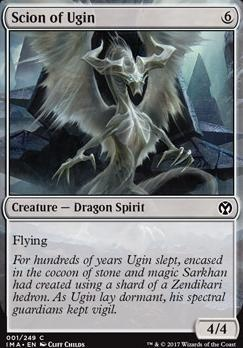 Iconic Masters Foil: Scion of Ugin